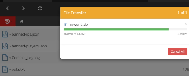 File Manager Feature