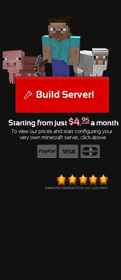 STIPE | STIPE Servers Control Panel - Minecraft Promotion